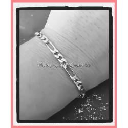 Bracelet 21CM X 4mm Maille...