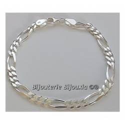 Bracelet 21CM X 6mm Maille...