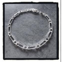 Bracelet 21CM x 5MM Maille...