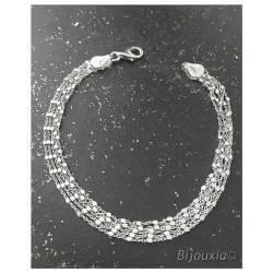 Bracelet Multi Chaînettes 5...