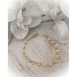 Bracelet Maille Grain De...