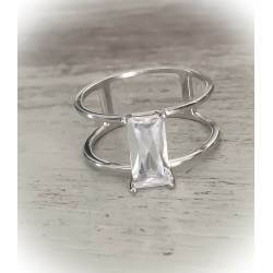 Bague TAILLE 56 Sertie...