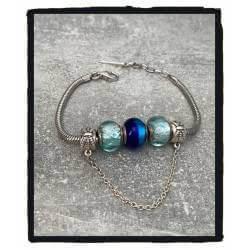 Bracelet CHARMS 3 Perles...