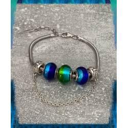 Bracelet CHARMS 3 Perles En...