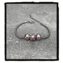 Bracelet CHARMS Boule à...