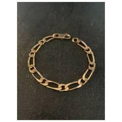 Bracelet Large Figaro 8MM x...