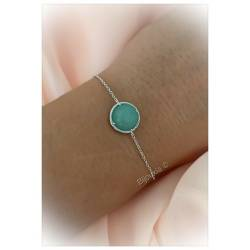 Bracelet Pendentif Cabochon...