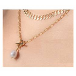 Collier Perle Naturelle...