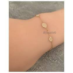 Bracelet Boules Plates...