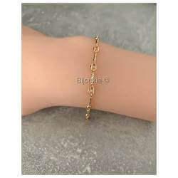Bracelet Alternance Grain...
