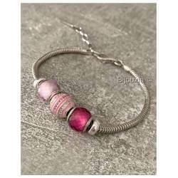 Bracelet CHARMS Rose 3...