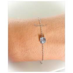 Bracelet Serti 4 Griffes...