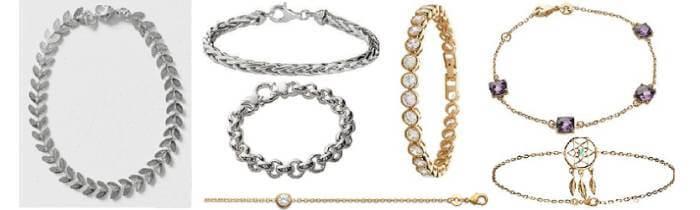Bracelets femmes & hommes - Or, Argent, Céramique & Acier - Bijouxia
