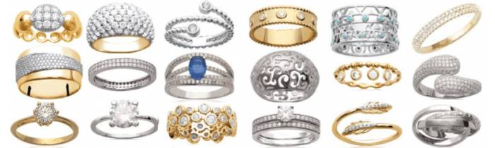 Alliances et bagues femme & homme - Or, Argent, Céramique & Acier